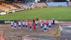 Спартак (Варна) се завърна във Втора лига с победа над Нефтохимик