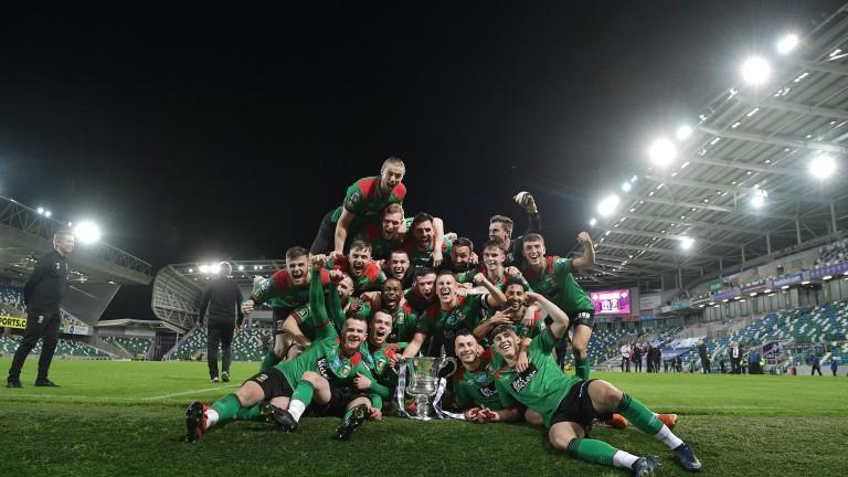Гленторан с 23-а Купа на Северна Ирландия