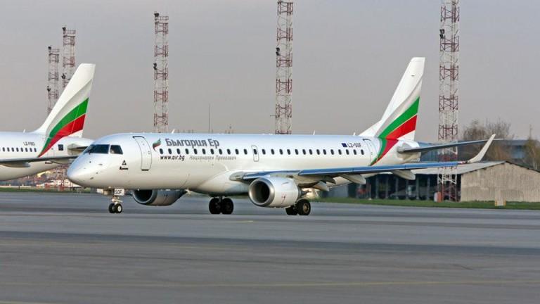 """""""България Еър"""" изпълнява всички си полети, с изключение на Русия и Израел"""