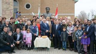 Откриха паметник на Васил Левски в Канада