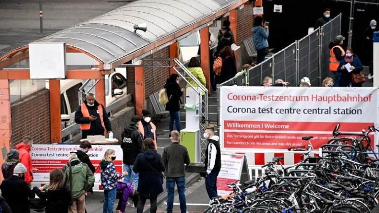 В Германия заразените с коронавирус се увеличиха в петък със