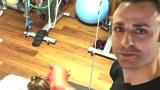 Бербо ходи на фитнес с дъщеря си