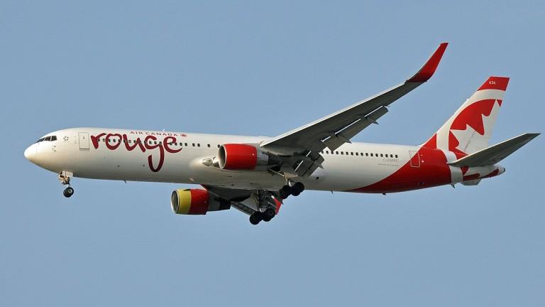 Канадската бюджетна авиокомпания Air Canada Rouge ще обслужва сезонни линии