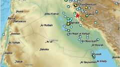 Силен трус разлюля Иран