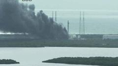 Ракетата-носител Falcon 9 на SpaceX се взриви при тестово изстрелване в Кейп Канаверал