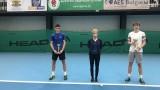 Пьотр Нестеров и Александра Габровска са шампиони от Държавното лично първенство по тенис