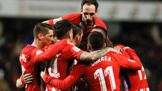 Триумфално завръщане за Диего Коща, Атлетико громи за Купата на Краля