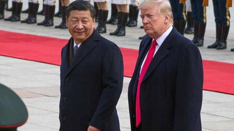 Тръмп и Си Дзинпин се срещат най-рано в края на април