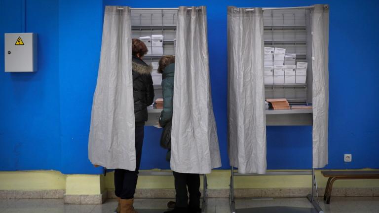 56,8% избирателна активност в Испания