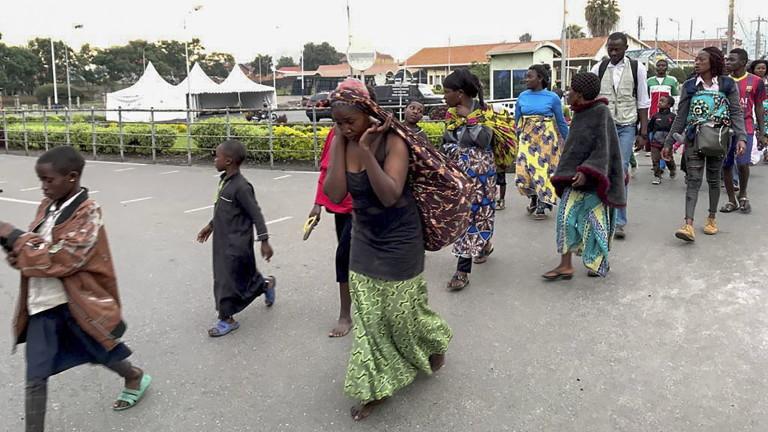на Демократична република Конго преди два дни уби най-малко 32