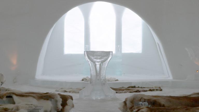 Леденият хотел в Швеция отвори врати за новия сезон