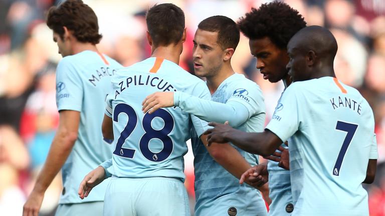 """Челси временно на върха във Висшата лига, """"сините"""" с класика срещу Саутхемптън"""