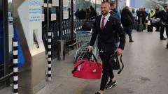 ЦСКА тръгна за Рим в отлично настроение