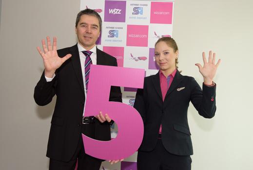 Wizz Air пуска по-рано 5-те нови дестинации от София