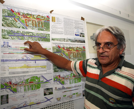 """Пешеходна зона над метрото по """"Черни връх"""" искат архитекти"""