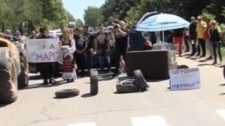 Жители на Кубрат блокираха пътищата към Русе и Разград