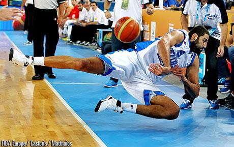 Гърция надигра европейския шампион