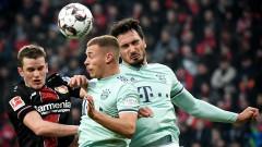 Байерн (Мюнхен) загуби с 1:3 от Байер (Леверкузен) като гост
