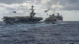 САЩ проведоха военни маневри в Арабско море