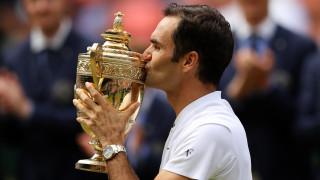 """Федерер отнесе Чилич и изписа името си със златни букви в историята на """"Уимбълдън""""!"""