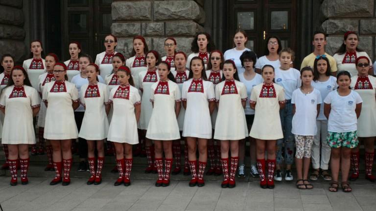 БНР, Детският хор и диригентът се разбраха