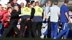 """""""Нападателят"""" на Моуриньо отнася наказание от Футболната асоциация в Англия"""