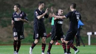 Димитър Макриев бележи за Ермис, отборът му отпадна за Купата