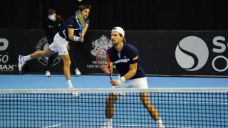 Мелцер и Роже-Васлен се класираха на полуфинал на двойки на Sofia Open 2020