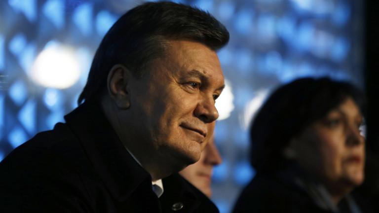 Янукович: Евролидерите са отговорни за случилото се в Украйна през 2014 г.