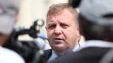 Каракачанов против политиците да се бъркат в спорта