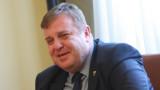 Радев и Каракачанов в спор за цената на изтребителите Ф-16