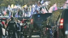 Тръмп се появи на митинг