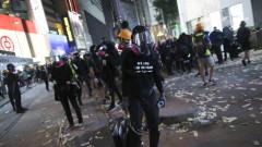 Хонконг навлиза в рецесия, а изходът не се вижда