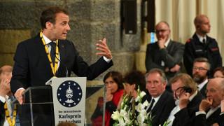 """Макрон призова Германия да изостави """"фетиша"""" си към бюджетния излишък"""