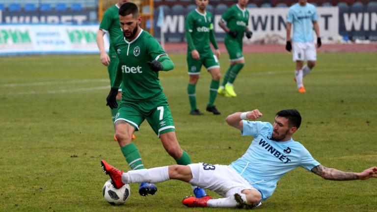 Отборът на Лудогорец завърши футболната 2018 година в Първа лига