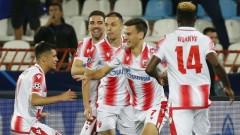 Цървена звезда стигна до първа победа в Шампионската лига след късен обрат