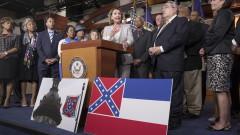 """Мисисипи каза """"чао"""" на емблемата на Конфедерацията и прие нов флаг на щата"""