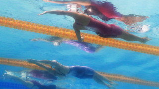 Габриела Георгиева девета в серията си на 200 метра гръб