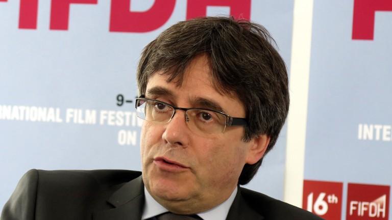 Пучдемон: Трябваше по-рано да обявя Каталуния за независима държава