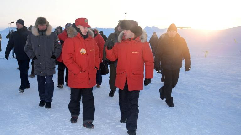 Русия разгръща противовъздушен купол над Арктика
