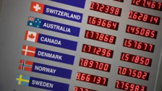 Силен спад на американската валута!