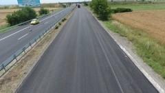 """Само в активната лента е движението по АМ """"Тракия"""" при км 78-80 към София"""