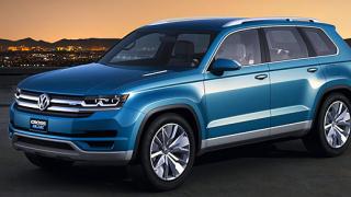 Volkswagen измисли име за новия си седемместен кросоувър