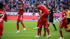 Байерн - Борусия (Д) 5:0, нов гол на Левандовски