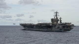 САЩ изтеглиха самолетоносач от Близкия изток
