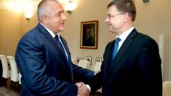 С подобряване на структурния баланс се похвали Борисов на Домбровскис