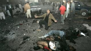 Беназир Бхуто убита при атентат в Пакистан