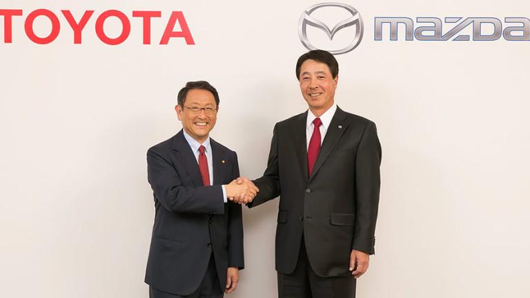 От автомобилния производител Toyota потвърдиха информацията за ново споразумение за