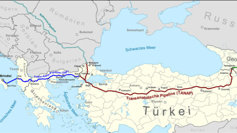"Азербайджан откри ""Южния газов коридор"""