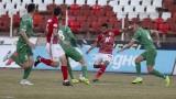ЦСКА - Ботев (Враца) 1:0, гол на Евандро